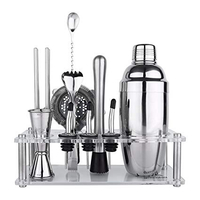Used Bar Tender Kit with Stand/16 pcs / Set in Dubai, UAE