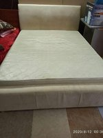 Used Bed with mattresd in Dubai, UAE