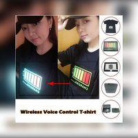 Used Voice activated tshirt size M in Dubai, UAE