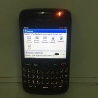 Used Blackberry 9780 scratche on screen  in Dubai, UAE