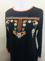 Used Maxi embroidered dress for her size S~M in Dubai, UAE