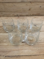 Used Set of 5 whiskey glasses  in Dubai, UAE