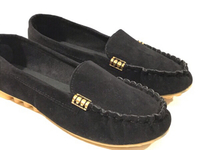 Used NEW Plain Black Slip-on Shoes Size UK 39 in Dubai, UAE