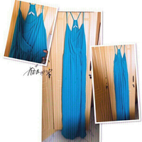 Used Zara Long Dress -Medium size 💙 in Dubai, UAE