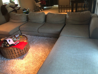 Used L Shape Couch from The One in Dubai, UAE