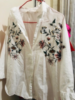 Used Zara Flower Shirt  in Dubai, UAE