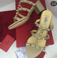 Used Brand New Valentino Rockstud Mule, Sizes Available... U Will Get What U See In The Photo  in Dubai, UAE