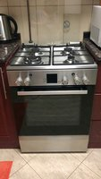 Used Bosch stainless steel top gas oven 4 bur in Dubai, UAE