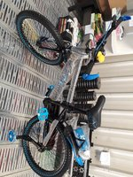 Used 20 Inches Boy Sport Bike with sup wheels in Dubai, UAE