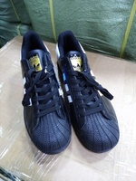 Used Adidas black stripes size 36 to 45 in Dubai, UAE