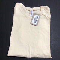 Used T-shirt-Alternative-Beige-size medium  in Dubai, UAE