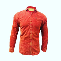 Used Orange Corduroy Shirt - XXL in Dubai, UAE
