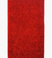 Used Soft Fluffy Red Rug NEW  in Dubai, UAE