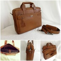 Used Leather laptop bag in Dubai, UAE