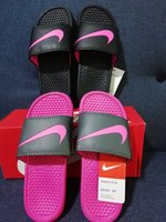 Used 2 pairs Nike slippers size 35 in Dubai, UAE