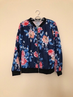 NEW Women's Floral Bomber Jacket SMALL