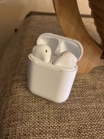 Used Wireless Airpods white brand new boxpack in Dubai, UAE