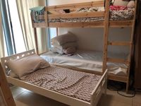 Used IKEA 2x wooden bunkers & child bed in Dubai, UAE