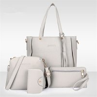 Used 4 pcs women's hand bags set offer in Dubai, UAE