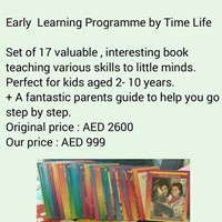 Used EARLY LEARNING PROGRAMME - TIME LIFE SERIES  BOOKS FOR KIDS 6-13 YEARS in Dubai, UAE