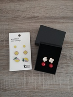 Used 4 Pairs Brand new earrings in Dubai, UAE