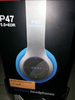 Used P 47 Wireless headphone New in Dubai, UAE
