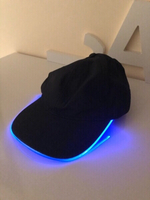 Used LED light blue color cap unisex  in Dubai, UAE