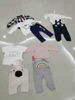 Used 4 kids sets size 10 new in Dubai, UAE