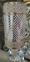 CRYSTAL LAMP.. 2 in 1 light.. brand new