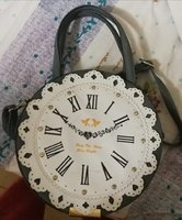 Used Unique design funky clock ladies bag in Dubai, UAE
