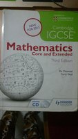 Cambridge IGCSE Mathematics 3rd edition
