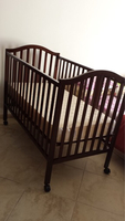 Used Baby cot,mattress,fitted sheet,bedspread in Dubai, UAE