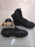 Used TACTICAL CAMOUFLAGE BLACK BOOTS SIZE 43 in Dubai, UAE