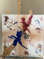 Used hand painted canvas  in Dubai, UAE