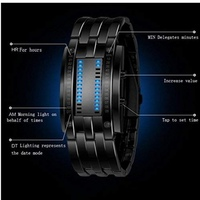 Used Men's LED bracelet  military watch in Dubai, UAE