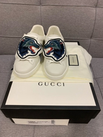 Used Gucci Ace sneakers with wolfs patches  in Dubai, UAE
