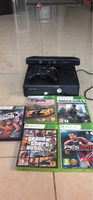 Used Xbox 360 with 1 controller and 5 games in Dubai, UAE