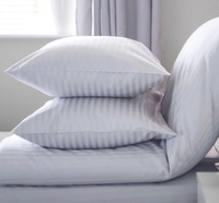 Used Hotel Fitted sheet, 2x pillow king size in Dubai, UAE