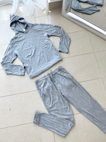 Used Pajamas set with hooded top 2 pcs 25 DHS in Dubai, UAE