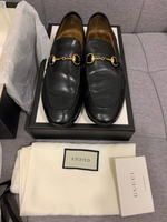 Used Black Gucci Princetown classical loafers in Dubai, UAE