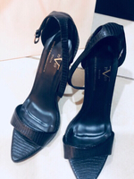 Used Versace Authentic leather shoes  in Dubai, UAE