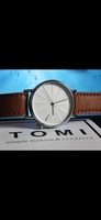 Used 🆕️  Original TOMI Leather Watch |✅ Box in Dubai, UAE