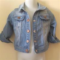 Zara Baby Girl Denim Jacket 9-12mths. Never Worn. Still With Tag. Bought On Sale For 85dhs.