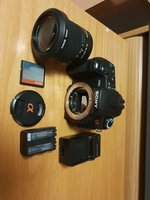 Used Sony alpha 300 with battery please read in Dubai, UAE