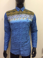 Used Blue leaves 🍁 cotton shirt - Size XL in Dubai, UAE