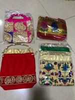4 pieces of small purses / gift pouches