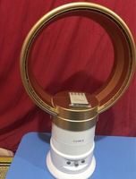 Used Gold colored Bladeless Fan in Dubai, UAE