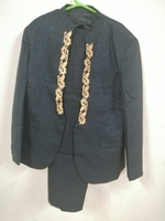 Used Men's embroidery Blazer suit with pant in Dubai, UAE