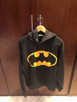 Used Batman hoodie large  in Dubai, UAE