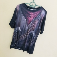 Used  New men T-shirt size XL in Dubai, UAE